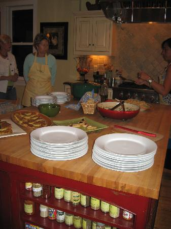 Savory Spoon Cooking School: The Spread