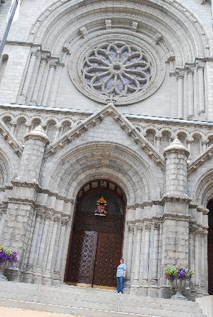 Cathedral Basilica of Saint Louis HUGE front doors! & HUGE front doors! - Picture of Cathedral Basilica of Saint Louis ...