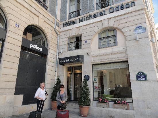 Hotel michelet odeon picture of hotel michelet odeon for Paris hotel address