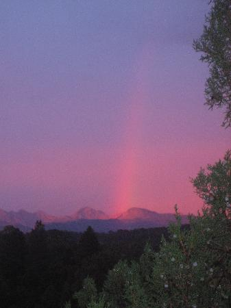 Abode at Willowtail Springs: our mountain top rainbow