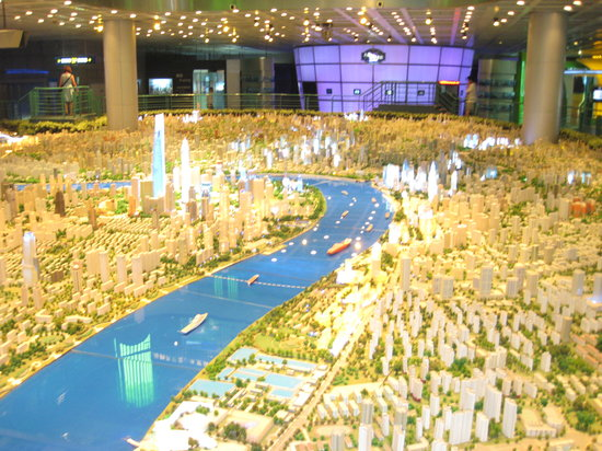 ‪Shanghai Urban Planning Exhibition Hall‬