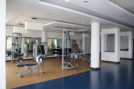 Bellarocca Island Resort and Spa: the gym
