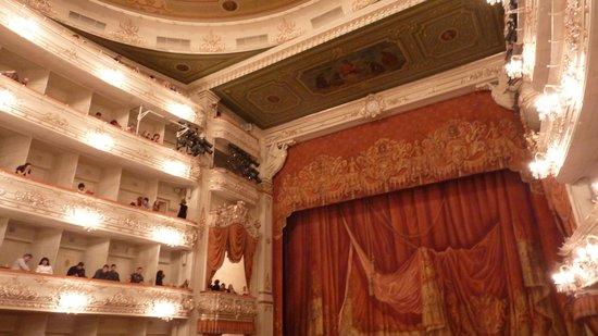 "Санкт-Петербург, Россия: now (again) called ""Mikhailovsky Theatre"""