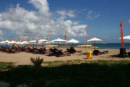 Hotel Santika Premiere Beach Resort Bali: La plage