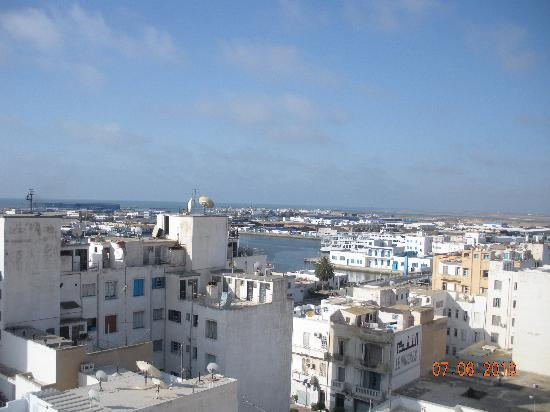 Golden Tulip Sfax : View from hotel-2
