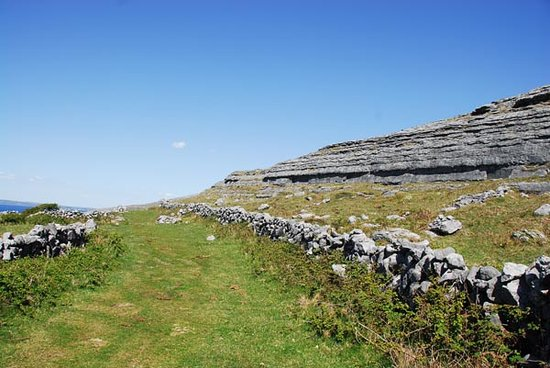 "Kilfenora, Ireland: One of the Burren ""Green Roads"""