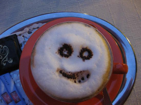 Fellini Ristorante: Cappuccino art