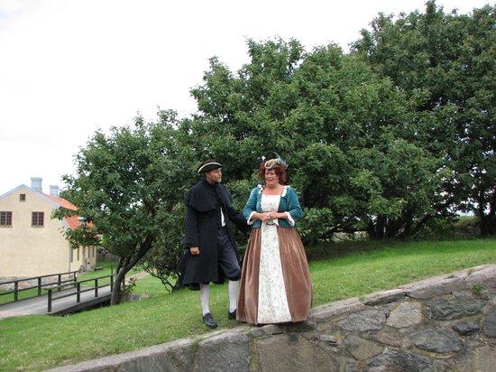 Alvsborgs Nya Fastning: Nya Alvborgs fortress reenactors