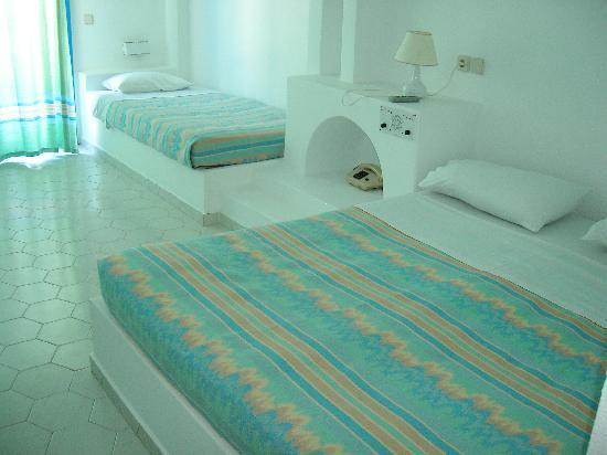 Mitsis Rinela Beach Resort & Spa: La chambre