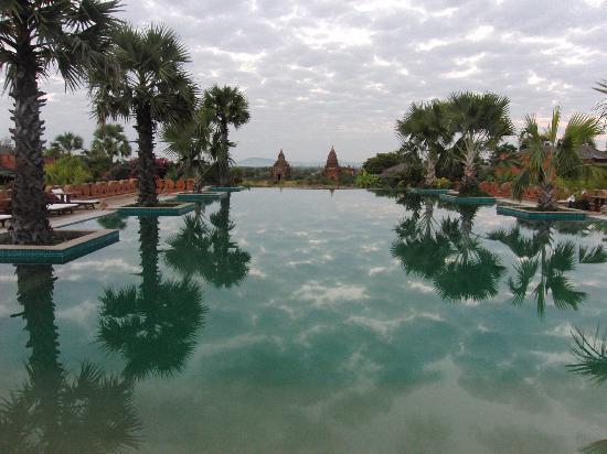Aureum Palace Hotel & Resort Bagan : Schwimmbad