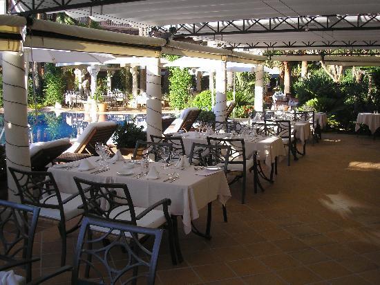 Hotel el Coto : Terasse