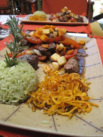 El Huacatay: One of the dishes we helped prepare