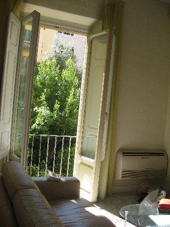 Residence Cavour: lounge area