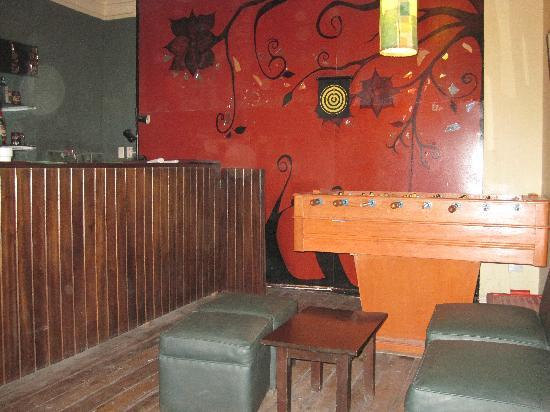 Greenhouse Urubamba: Upstairs from main restaurant there is a great bar
