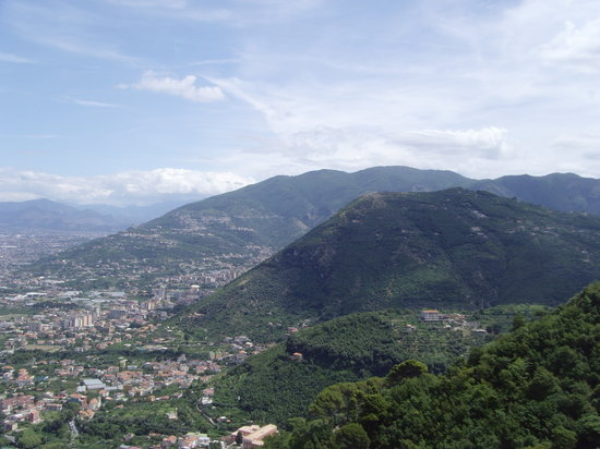 Castellammare Di Stabia, Italie : View from cable car