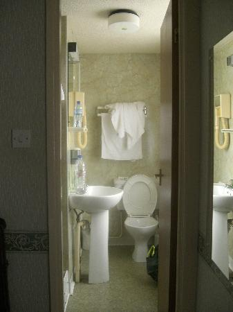 Bridgemary Manor Hotel : the ensuite