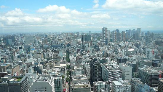 Shangri-La Hotel, Tokyo : view from our room