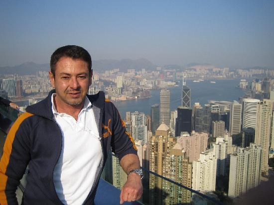 Sheraton Hong Kong Hotel & Towers : Ich selbst auf dem Peak