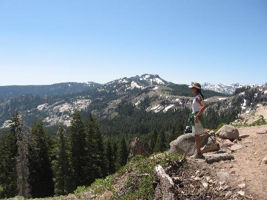 Truckee, Kaliforniya: Beautiful Vistas from Donner Summit