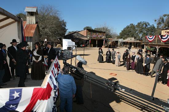 old west movie set foto van enchanted springs ranch