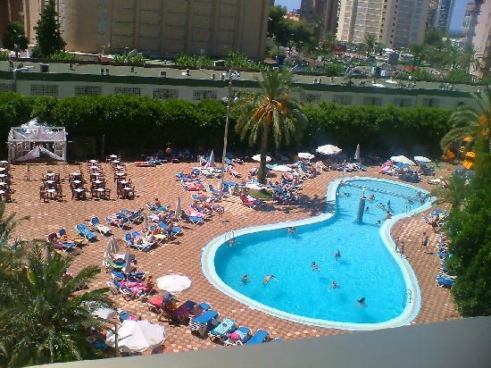 Servigroup Venus: view from balcony of pool