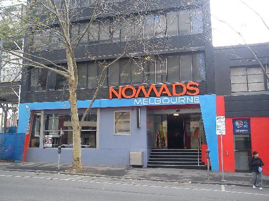 Nomads Melbourne : La façade de l'entrée