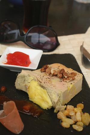 Le Bombe Cul : Foie gras platter