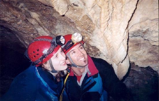 Qualicum Beach, Canadá: Caves at Horne Lake
