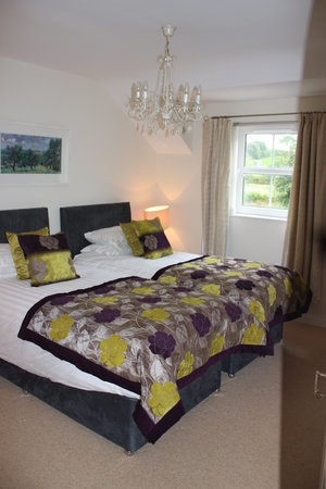 MacNean House & Restaurant: Twin Bedroom