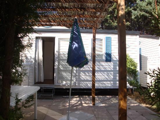 Camping Le Mas: Notre mobile home