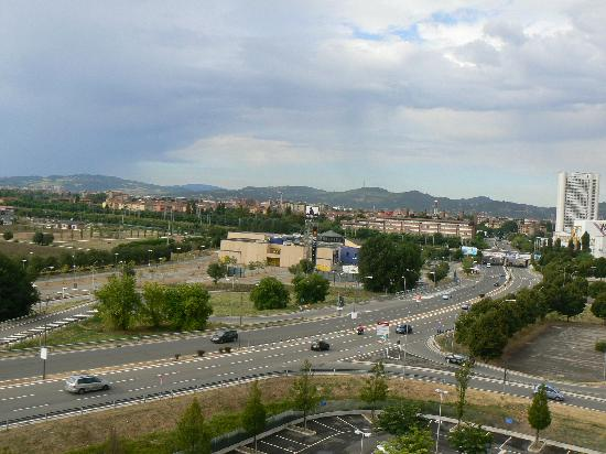 Novotel Bologna Fiera: View from the room