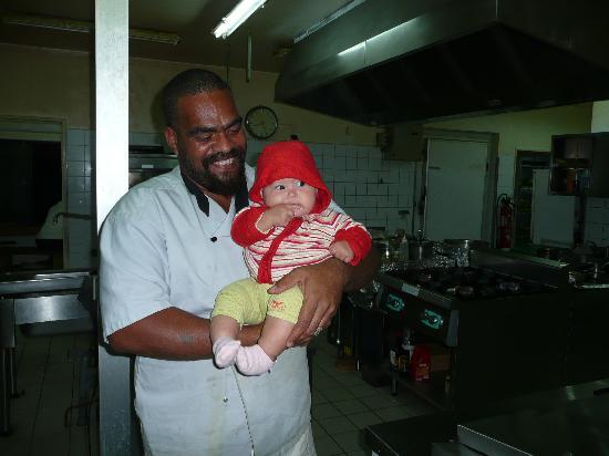Hotel Paradis D'Ouvea: ma plus petite en cuisines