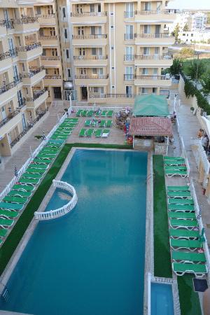 Aegean Park: Pool view