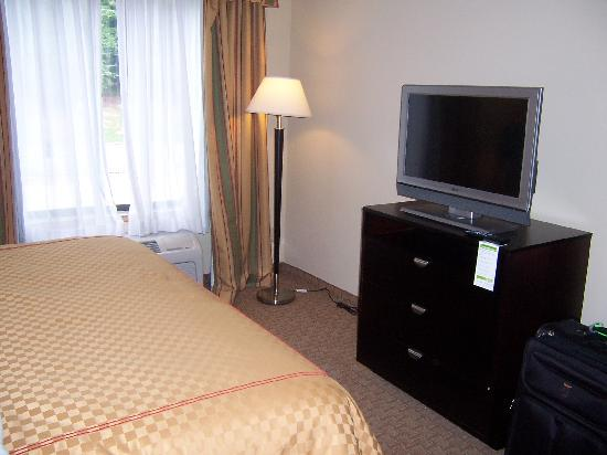Dalton, GA: Cable TV in King with sleeper sofa room