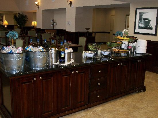 Hampton Inn & Suites Lubbock Southwest : Manager's Reception