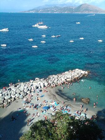 J.K. Place Capri: View of marina and beach
