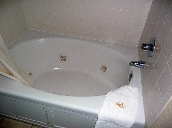 Quality Inn & Suites: Bathtub overview