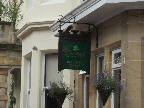 The Chestnuts Hotel: Real Cask Ales - Chestnuts Hotel