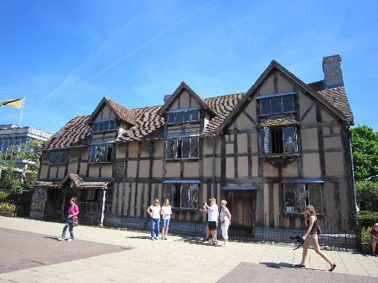 Stratford-upon-Avon, UK: シェイクスピアの生家
