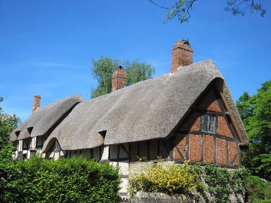 Stratford-upon-Avon, UK: アン・ハザウェーの生家