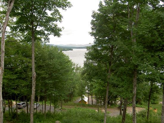 Sainte Catherine de la Jacques Cartier, Canadá: Vue de la chambre