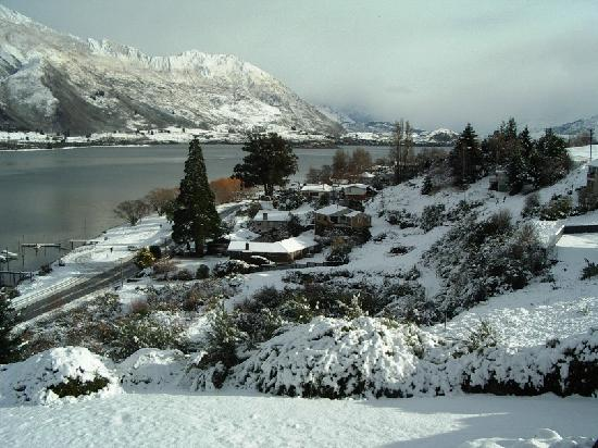 Lakeview Motel: Mid winter views