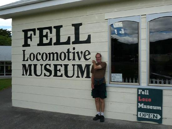 Fell Locomotive Museum: The Museum Sign