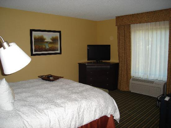 Hampton Inn & Suites Fort Belvoir Alexandria South: a confortable mattress