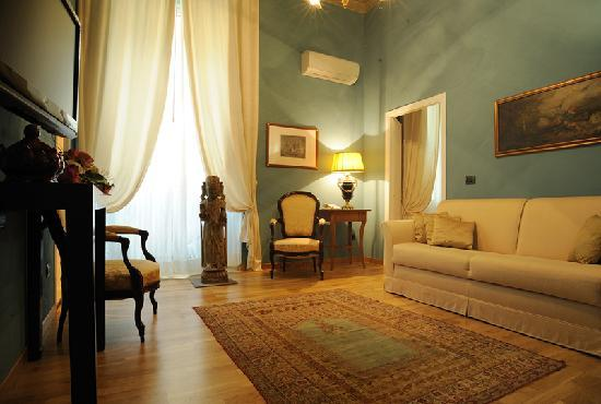 Palazzo Galletti : Selene Suite Living Room