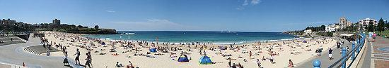 Grand Pacific on the Beach: The view of Coogee Beach