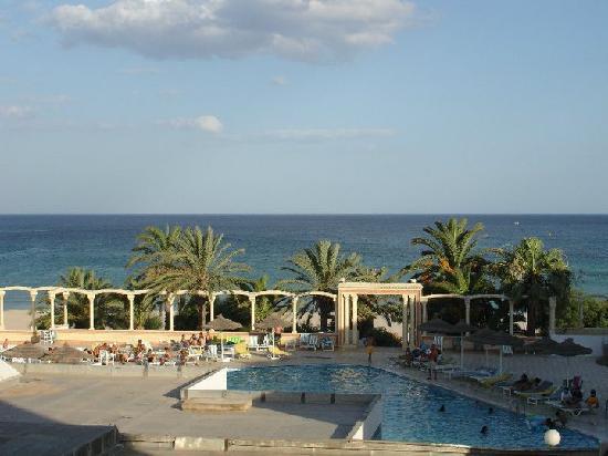 Hotel Les Colombes : Vista dal balcone della stanza