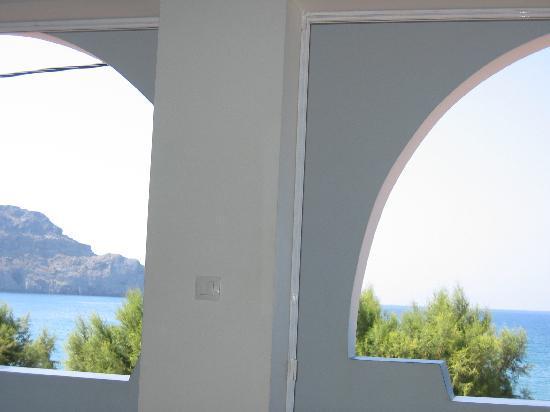 Livikon Beach Hotel: dalla finestra
