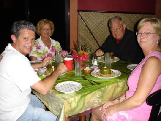 Pyramid Reef Restaurant: Dinner at Pyramid Reef/Maya Palms Resort