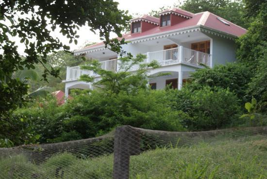 Residence Anse Caraibe: Vue de la villa Anse Caraïbe